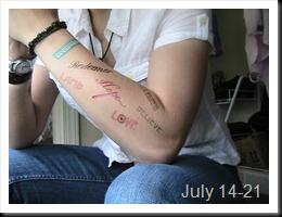 365 Tattoos D191-197